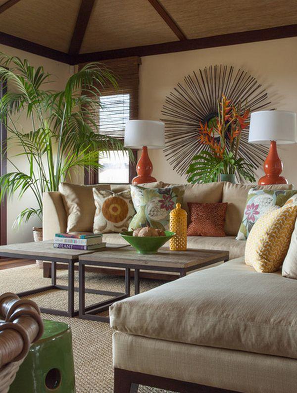 Tropisch interieur