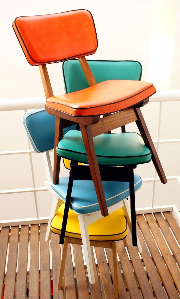 Vintage stoelen for Vintage stoelen