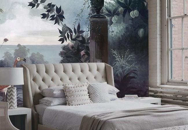 Behang woonkamer voorbeelden for Woonkamer behang voorbeelden