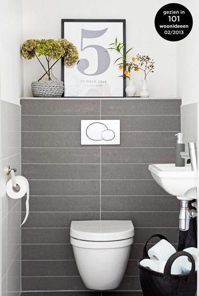 voorbeelden toilet inrichting