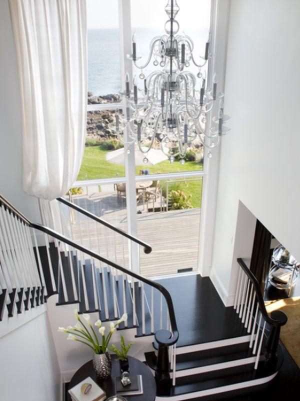 white-staircase-design