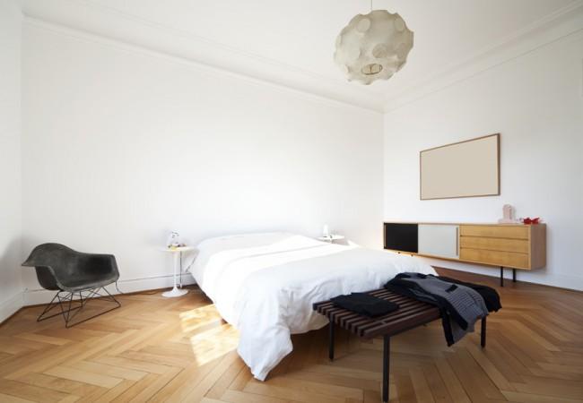 Paarse slaapkamer ideeen interieur insider - Kamer parket ...