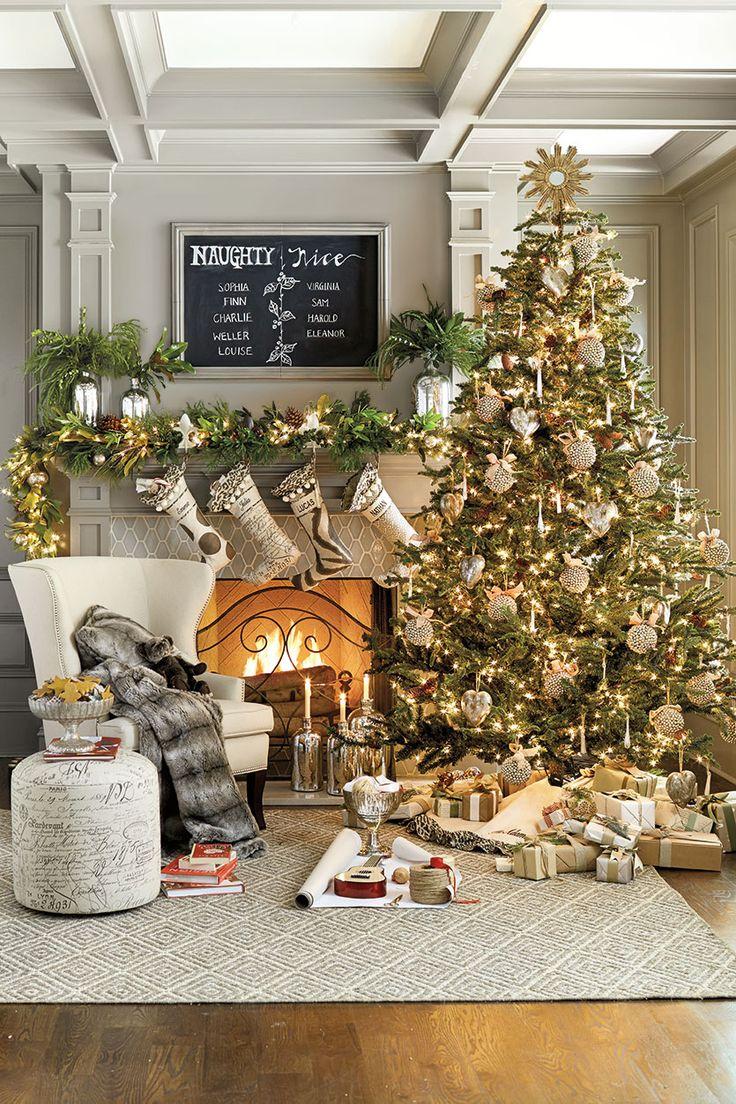 Ideeën kerstboom versieren   interieur insider
