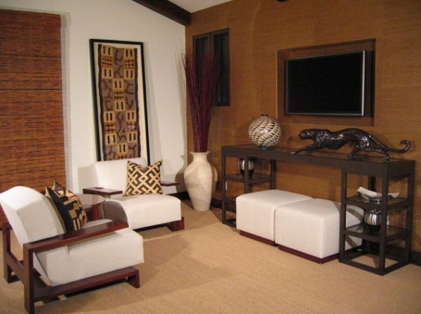 Afrikaans interieur for Living room ideas kenya