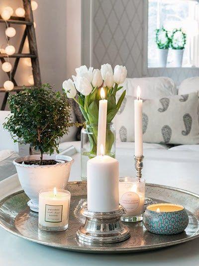 Bijzettafel decoratie - Salon decoratie ideeen ...