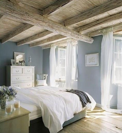 Blauwe slaapkamer for Blue beach bedroom ideas