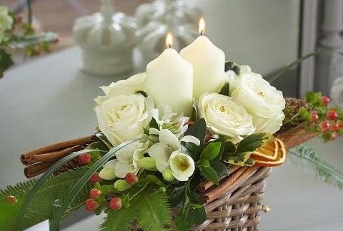 Kerst bloemen