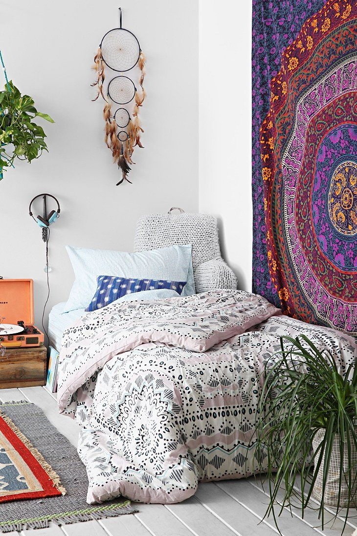 Bohemian slaapkamer interieur insider for Bohemian bedroom ideas pinterest