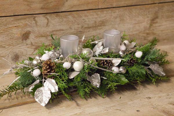 Zelf kerststukje maken for Decoratie stuk om te leven