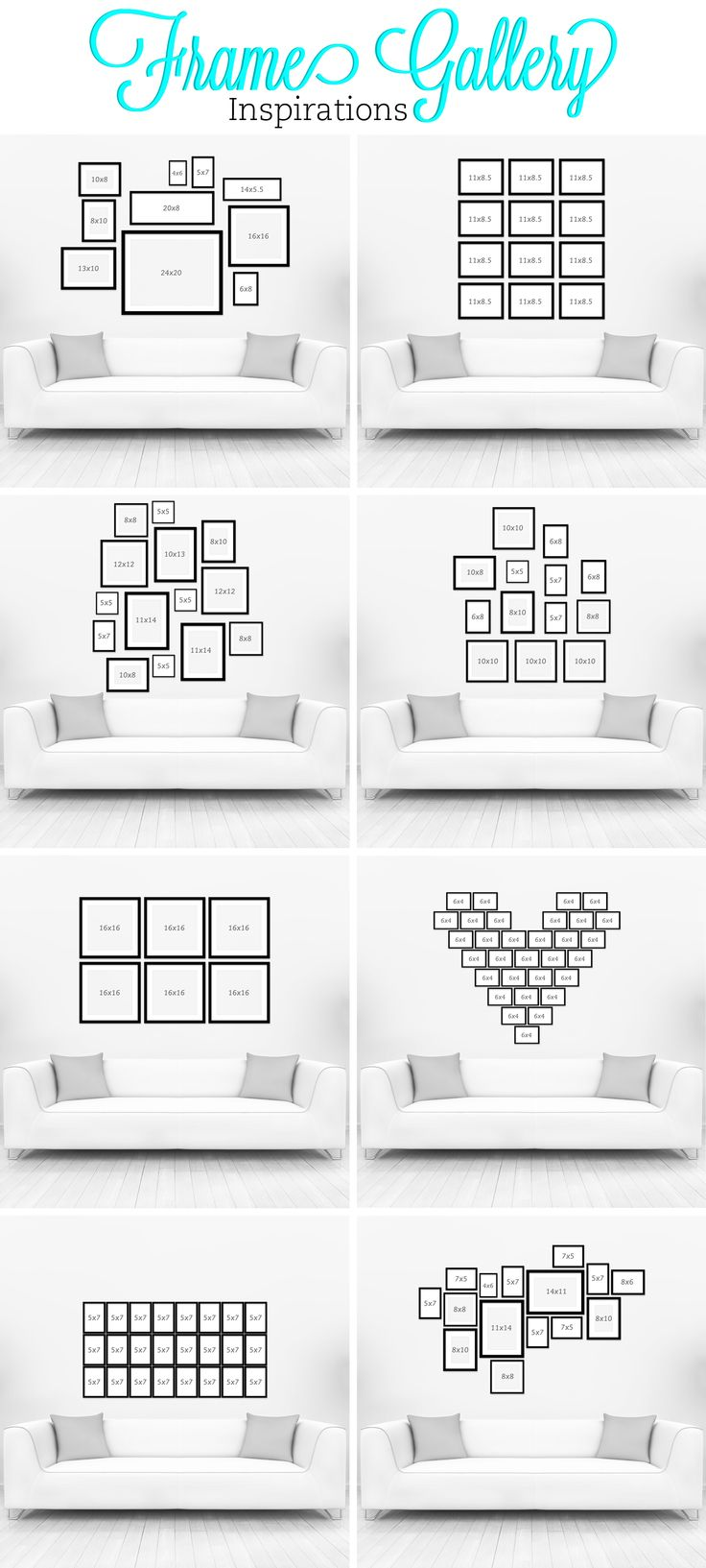 Gallery Wall Ideas Black And White : Fotomuur inspiratie interieur insider