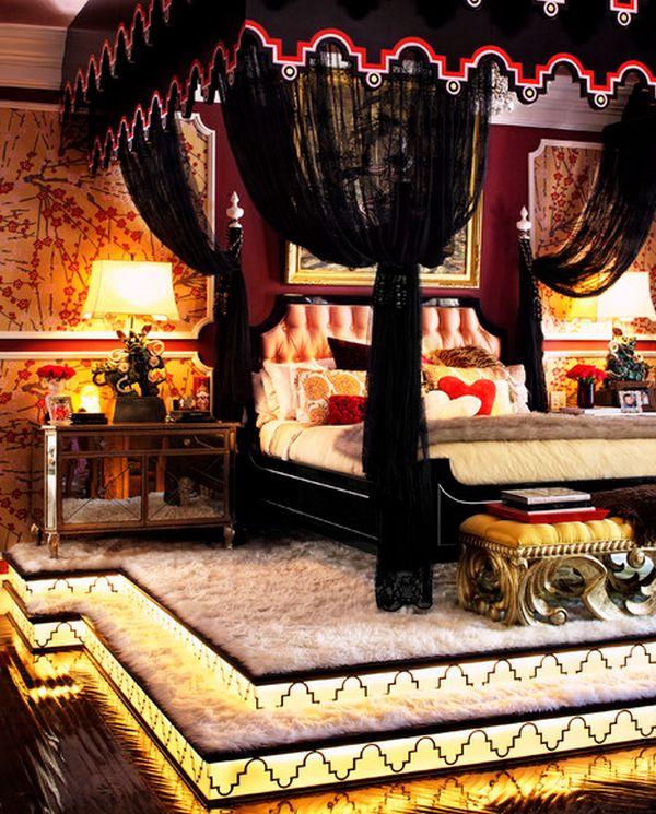 Glamour slaapkamer