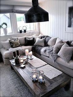 Grijstinten woonkamer — InteriorInsider.nl