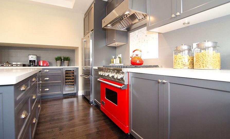 Grijze keuken - Interieur Insider