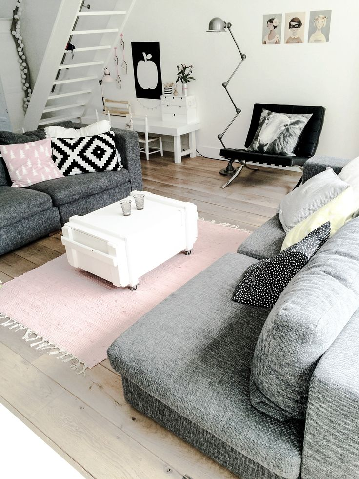 Grijs combineren in interieur interieur insider for Lounge inspiration