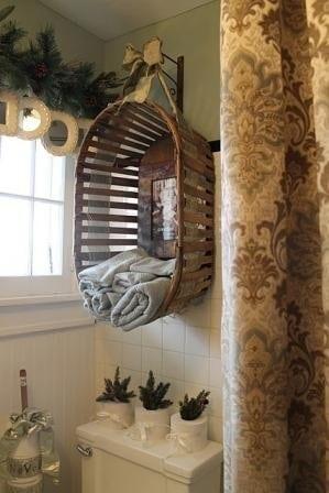 handdoek opbergen hangmand