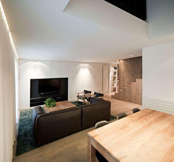 Houten interieur - Interieur decoratie modern hout ...