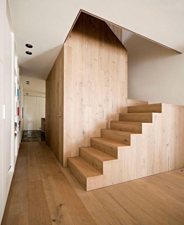 Houten interieur interieur insider - Interieur houten trap ...