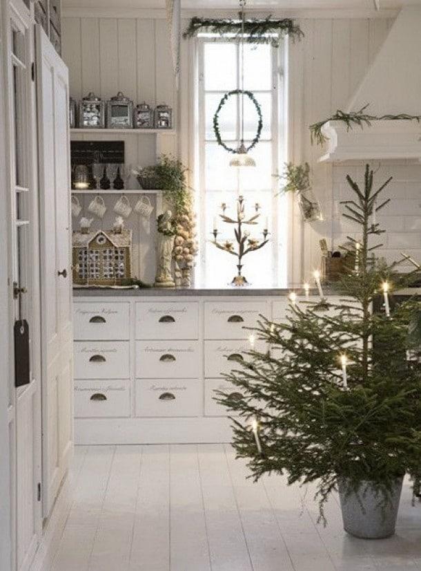 Kerst sfeer in huis
