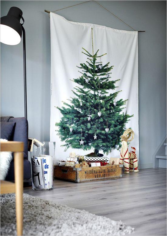 Kerstboom idee - Salon decoratie ideeen ...