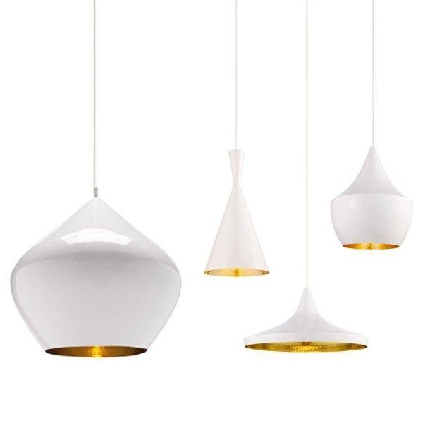 Grote witte lamp - Ouderlijke slaapkamer decoratie ...