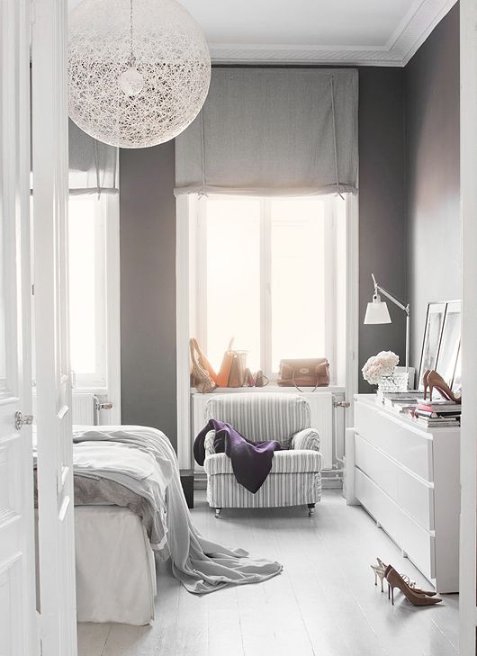Grote witte lamp — InteriorInsider.nl