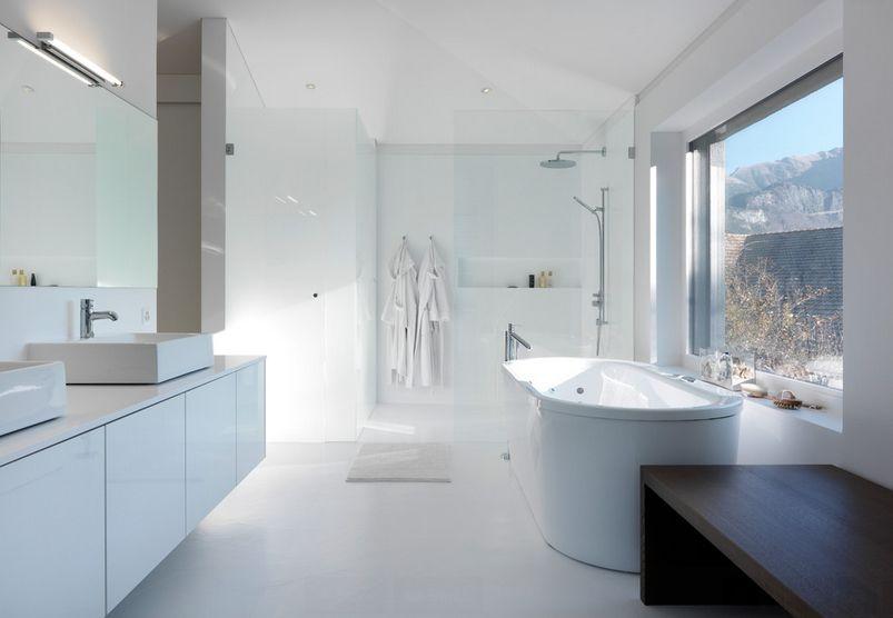 Witte badkamer interieur insider - Interieur badkamer ...