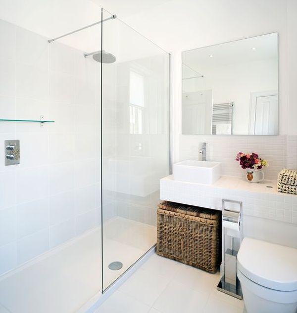 Witte badkamer interieur insider - Kleur modern toilet ...