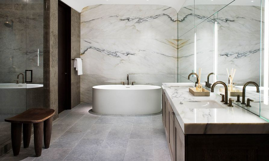 marble-bathoom-design-like-a-spa