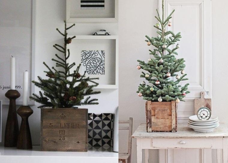 Riviera Maison Slaapkamer Ideeen : Kleine kerstbomen - Interieur ...
