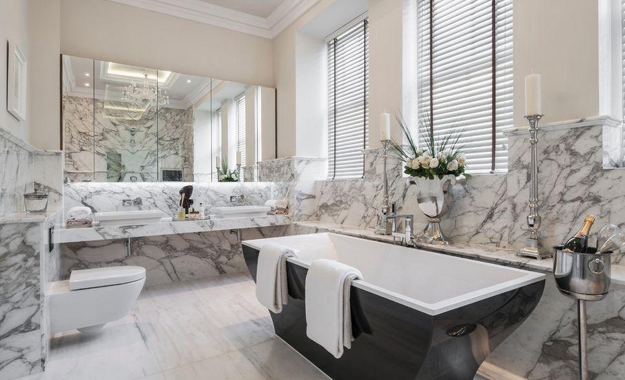marmer badkamer  interieur insider, Meubels Ideeën