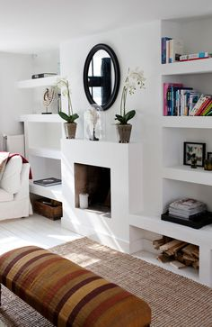 Moderne kasten woonkamer — InteriorInsider.nl