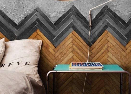 kleine slaapkamer decoreren : Muur slaapkamer Interieur Insider