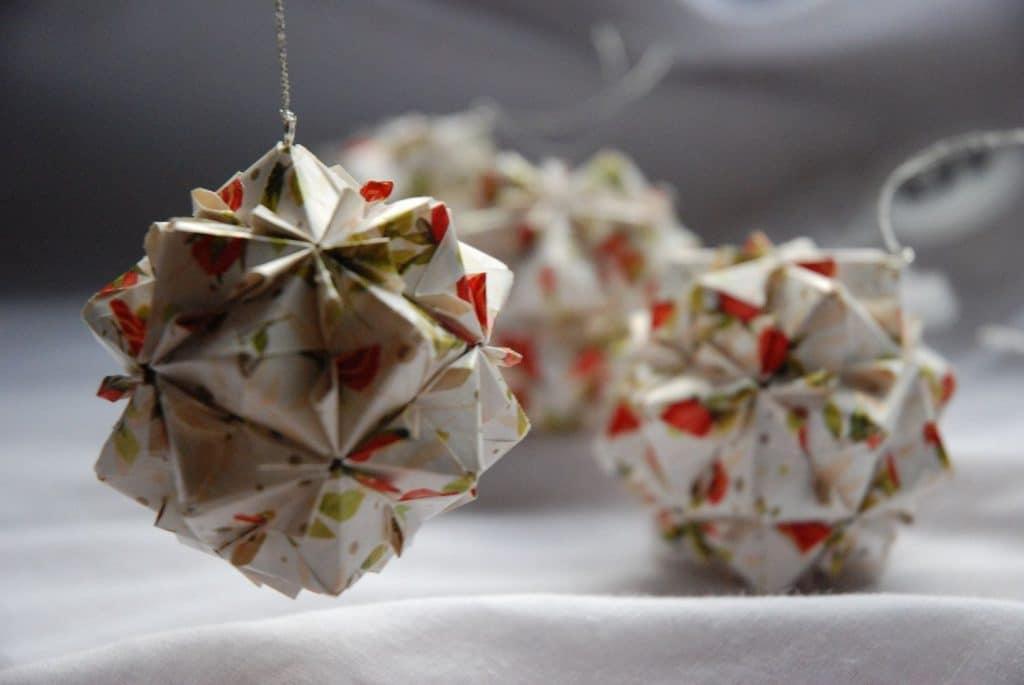 Raamdecoratie kerst for Decoration noel origami