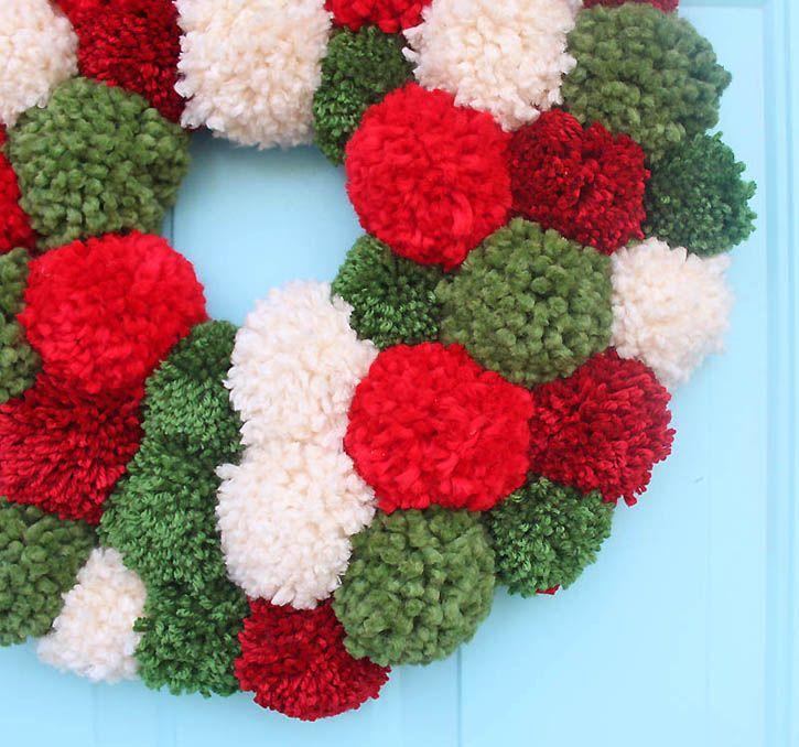 pom-pom-wreath