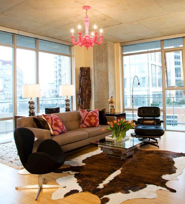 Roze woonkamer — InteriorInsider.nl