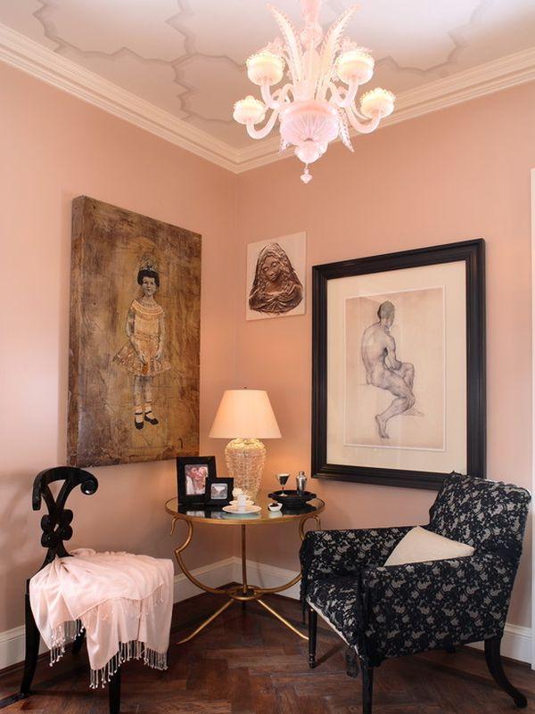 Vers Woonkamer Inrichten Met Roze Decoratie Woonkamer - Inspiratie ...