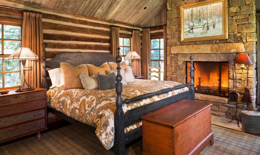 Rustieke slaapkamer - Interieur Insider