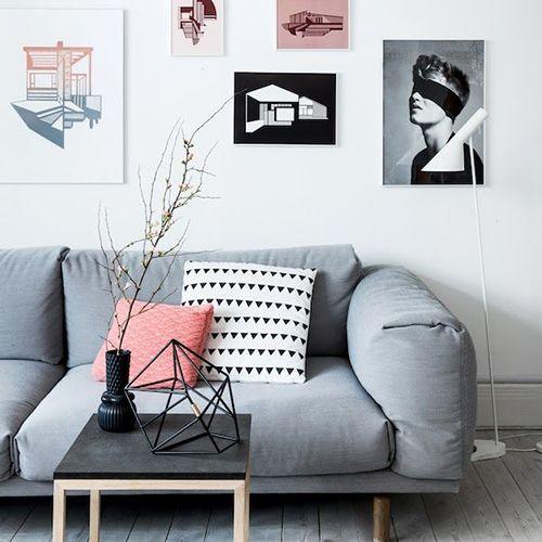 Wonen scandinavische stijl interieur insider - Sofa stijl jaar ...