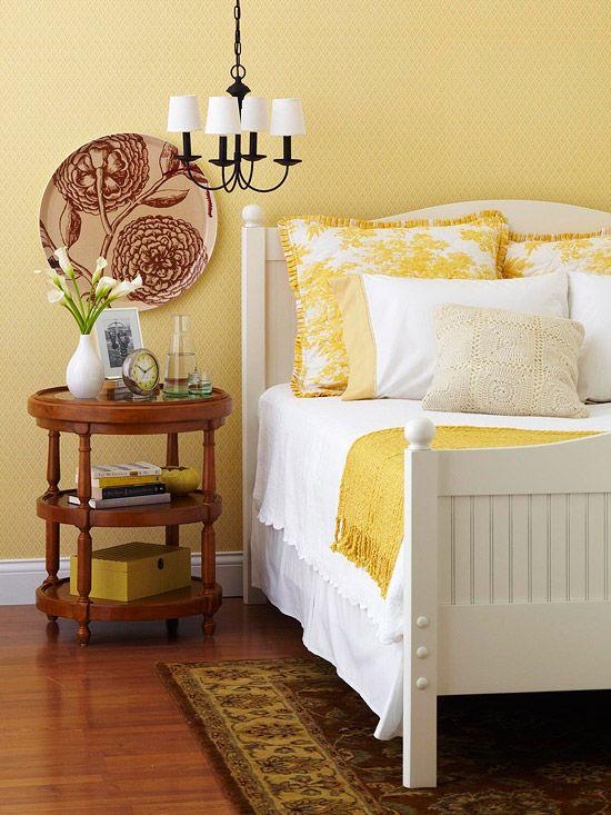 inspiratie slaapkamer kleuren - interieur insider, Deco ideeën