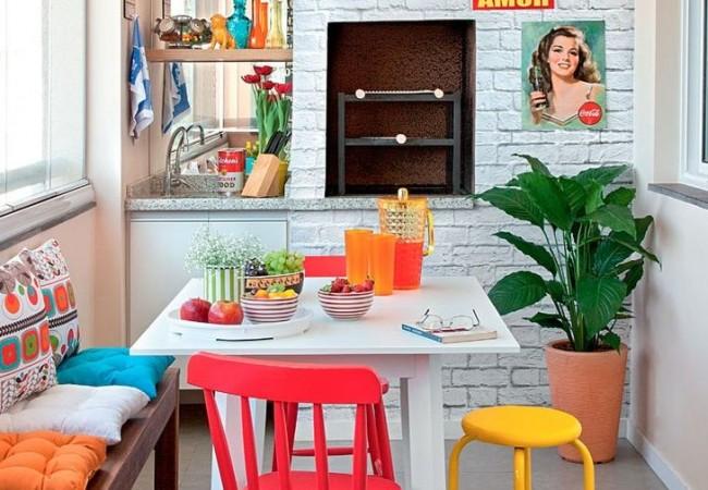 Vrolijke keuken - Gekleurde muren keuken ...