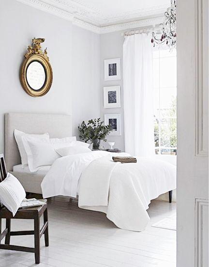 Witte slaapkamer inspiratie - Romantische witte bed ...