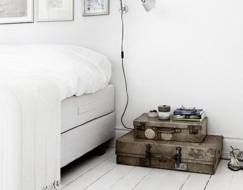 Witte slaapkamer inspiratie