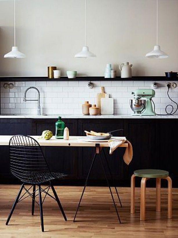 Zwart keuken   interieur insider