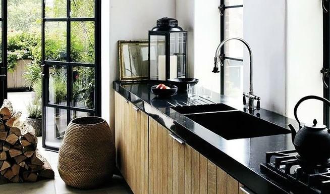 Zwart keuken