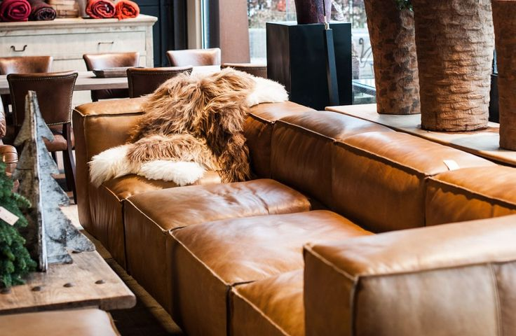 Interieur leren bank interieur insider for Lounge zetel