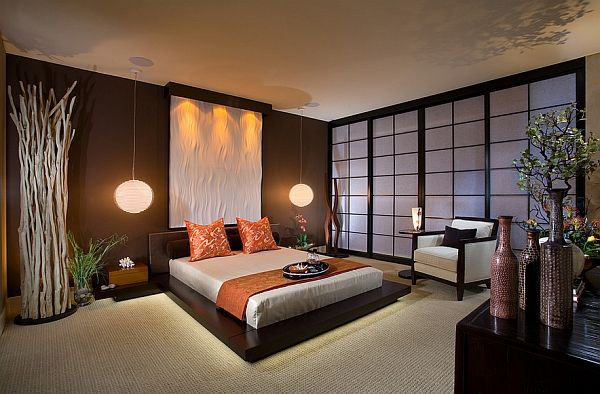 Brocante Slaapkamer Behang : Asian Master Bedroom Decorating Ideas