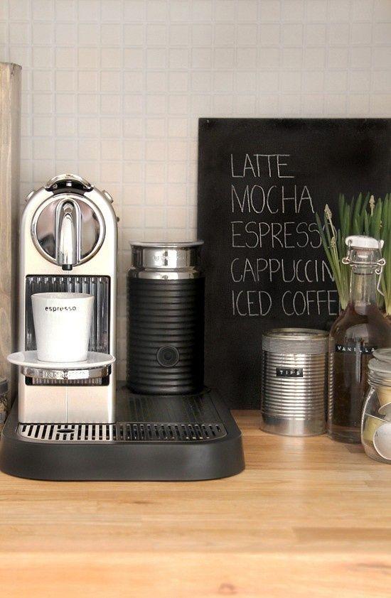 Maak een koffiehoek in je keuken