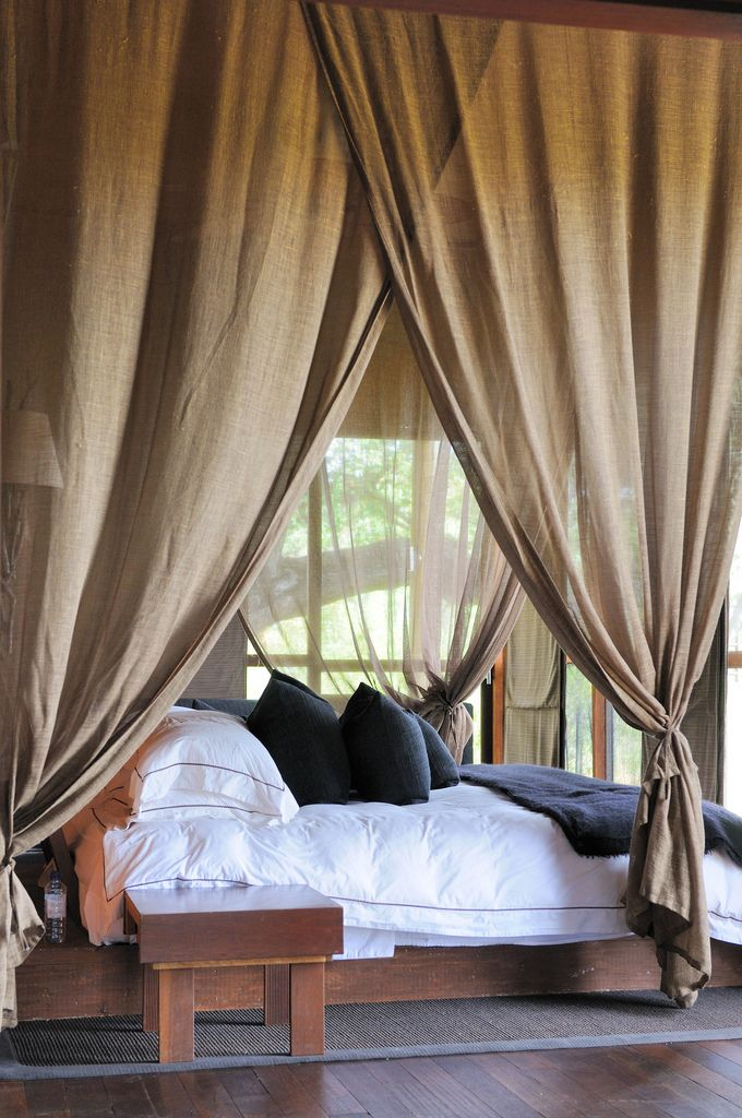 large-bedroom-curtains-above-bed