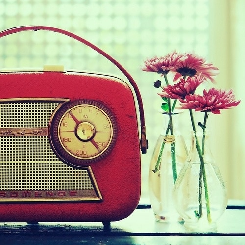 Radio in interieur