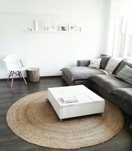 Sisal vloerkleed - Interieur Insider